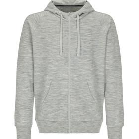 super.natural Essential Bluza z zamkiem błyskawicznym Mężczyźni, szary